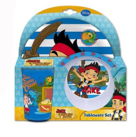 Jake and the Neverland Pirates Plate Bowl and Tumbler set £7.99