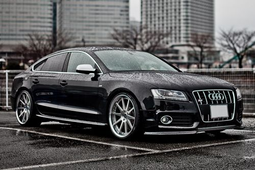 Audi RS5 is beautiful. But, if I were to get an Audi it would be an A6