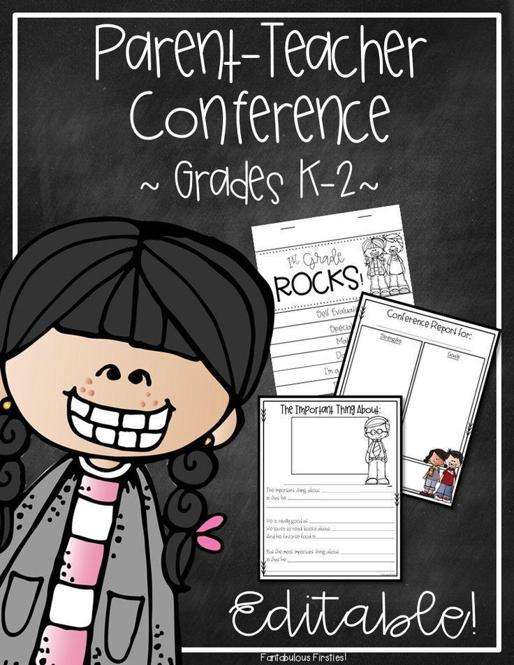 This parent teacher conference pack is full of everything you need for your student led conferences.