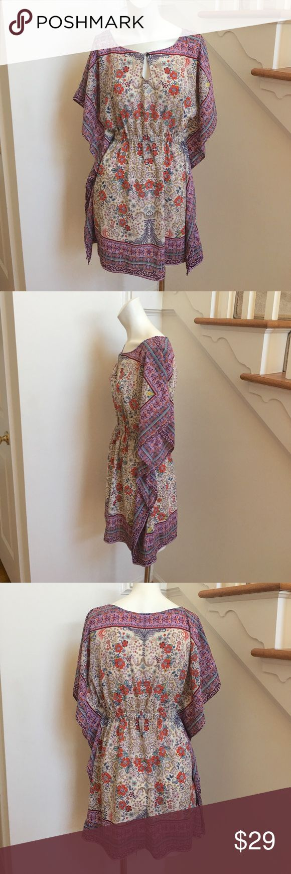 """Zara Floral Kaftan Tunic Gently Used/Excellent condition 