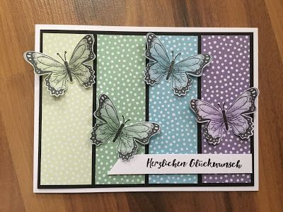 Bastelwahnsinn – Stampin'Up! Schmetterlinge