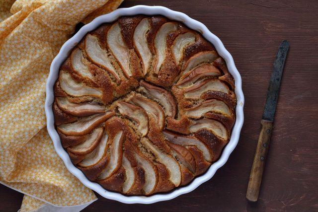 Dívány - Alapkonyha - Körtés (almás) mandulás (diós) kevert pite