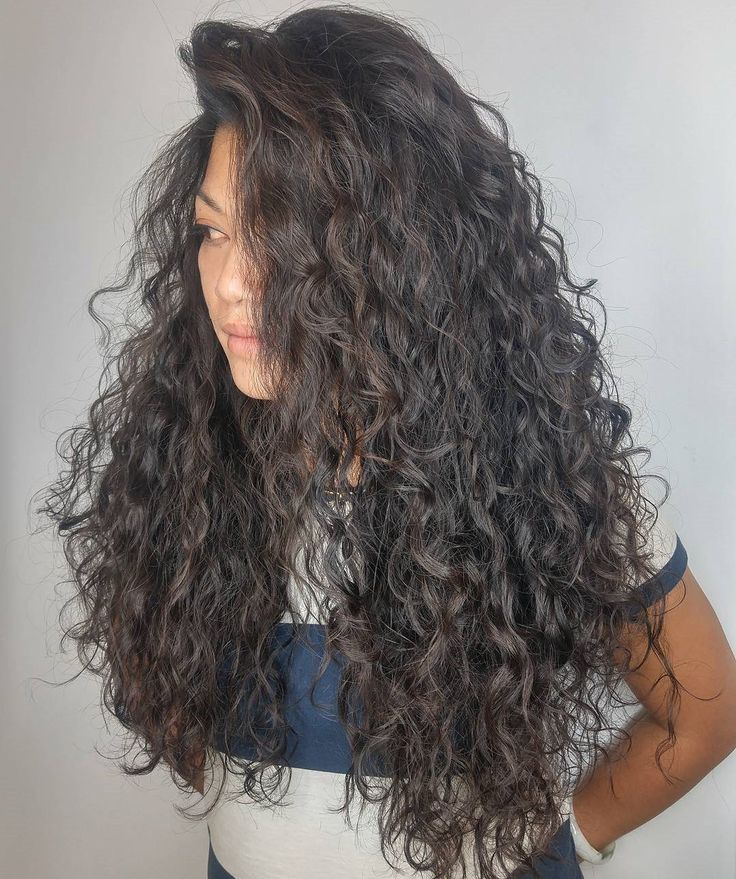 Extra Long Hairstyle for Curly Hair