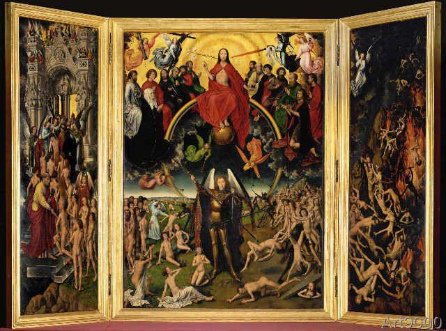 Hans Memling - Altar of the Last Judgement