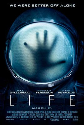 #MovieOfTheDay LIFE is a terrifying sci-fi thriller about a team of scientists aboard the International Space Station whose mission of discovery turns to one of primal fear when they find a rapidly evolving life form that caused extinction on Mars, and now threatens the crew and all life on Earth. #movies #drama #cinema #moviesthis #film #moviefacts #movienight #watchingmovies