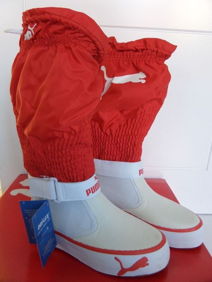 Puma ALEE GORE-TEX Sailing Boots Shoes Volvo Ocean Race Boat Yacht Deck Luff UK9 #puma