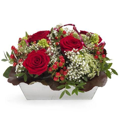 Rød rosemagi - Forus - Maren's Blomster