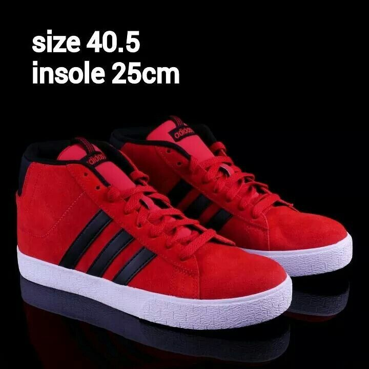 READY STOCK MEN/KIDS SNEAKERS KODE : Red Adidas Size 40.5 PRICE : Rp.450.000,- AVAILABLE SIZE : - Size 40.5 (insole 25cm)  ORIGINAL ADIDAS EXPORT QUALITY  FOR ORDER : SMS/Whatsapp 087777111986 PIN BB 766A6420 LINE : mayorishop  #readystock #pusatsepatubootsanak #adidasoriginal #redshoes #sportshoes #runningshoes #menshoes #sepatucowo #kidsshoes #kidssneakers #sepatuanak #sepatuolahraga #sepatusport #mayorishop #bogor