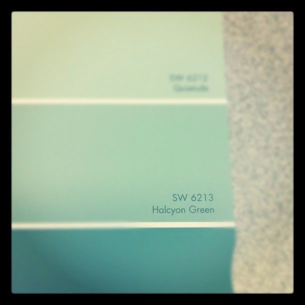 Valspar Robin Egg Blue Paint Halcyon Green Is A Robin S