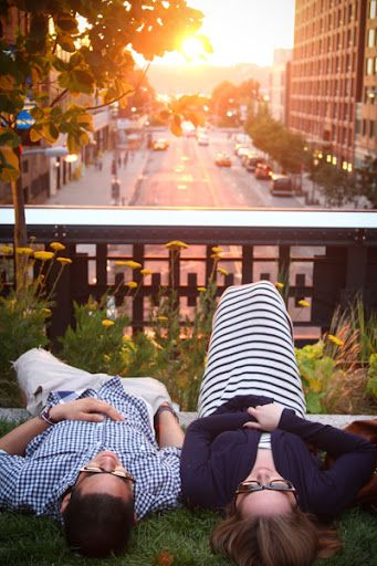 Visit the High Line to soak up great views of NYC and walk along the city's history. With three different phases the High Line follows the old rail lines and meets the Hudson River.