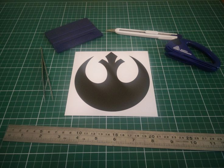Star Wars Rebel Alliance Symbol Logo Vinyl Sticker / Decal - Join the Rebels! by FIESDesigns on Etsy