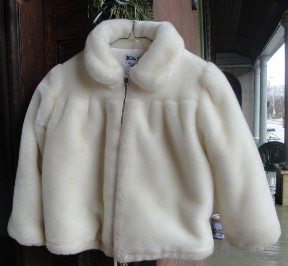 Girls Faux Fur Parka by heydarlin on Etsy, $24.00
