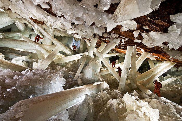 Шахта Нэйка - Хрустальные пещеры, Мексика
