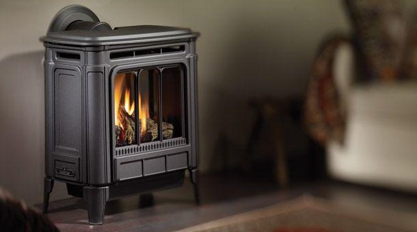 Hampton H27 gas stove for tiny house! Propane heat