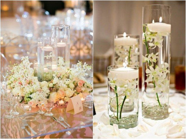 20 Impossibly Romantic Floating Wedding Centerpieces - Deer Pearl Flowers