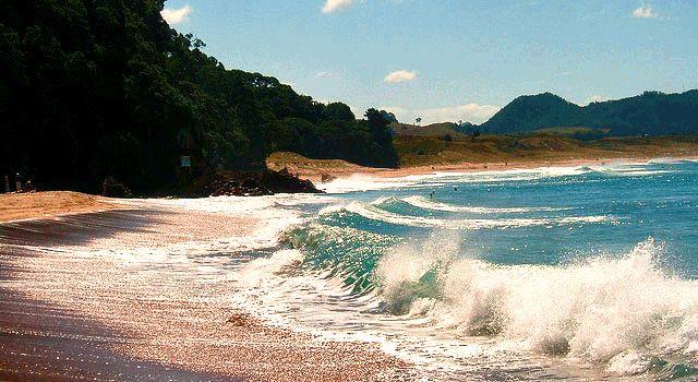 Hot Water Beach, Coromandel.