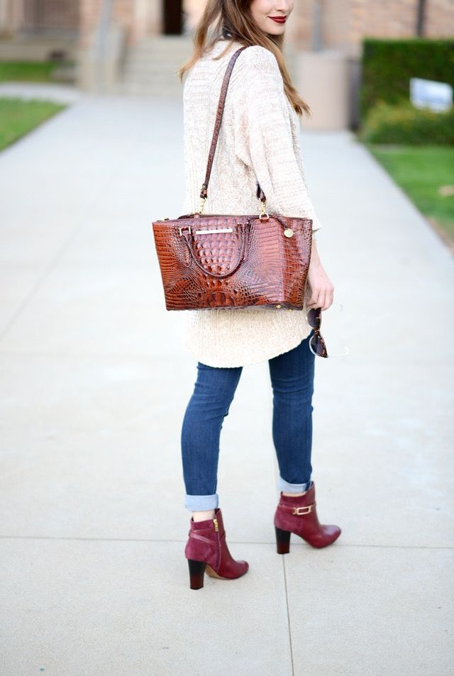 a classic fall outfit