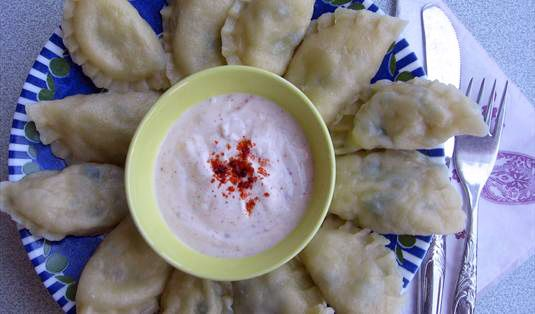 Haluj (Çerkez Mantısı) Tarifi / Marifetlitarifler'den yemek tarifleri