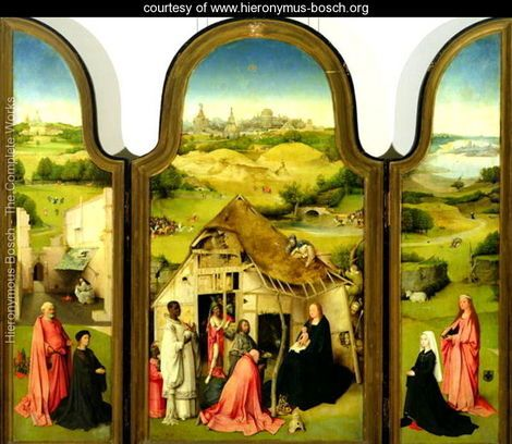 bosch adoration of the magi | Adoration of the Magi, 1510 - Hieronymous Bosch - www.hieronymus-bosch ...