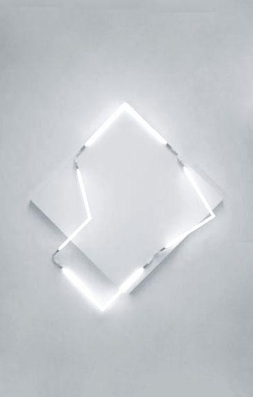 M back to M - Quadrature du carré| lighting . Beleuchtung . luminaires | Design: François Morellet |