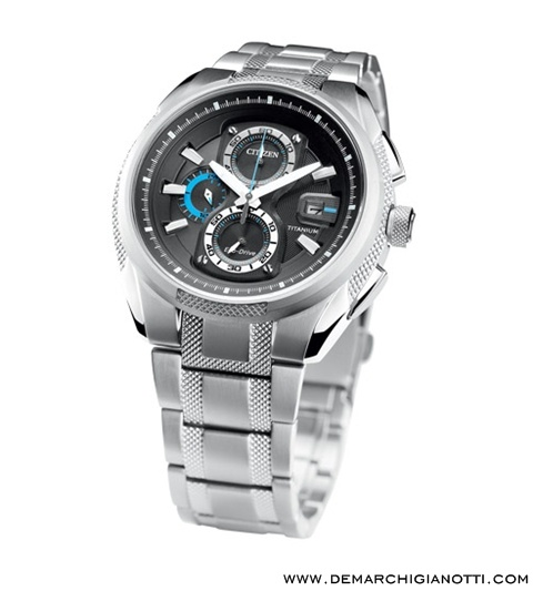 Citizen Crono Supertitanio  Eco Drive ca0200-54e  www.demarchigianotti.com