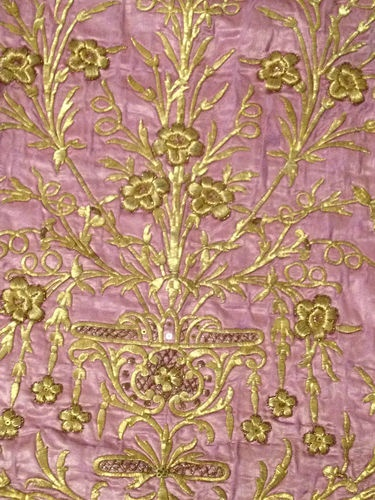 Detail of a19th century Ottoman hand embroideried  dress.‏