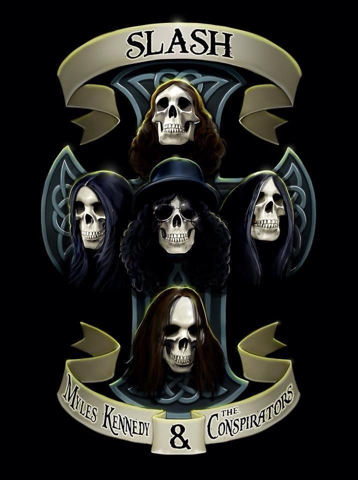 slash skull wallpaper - photo #25
