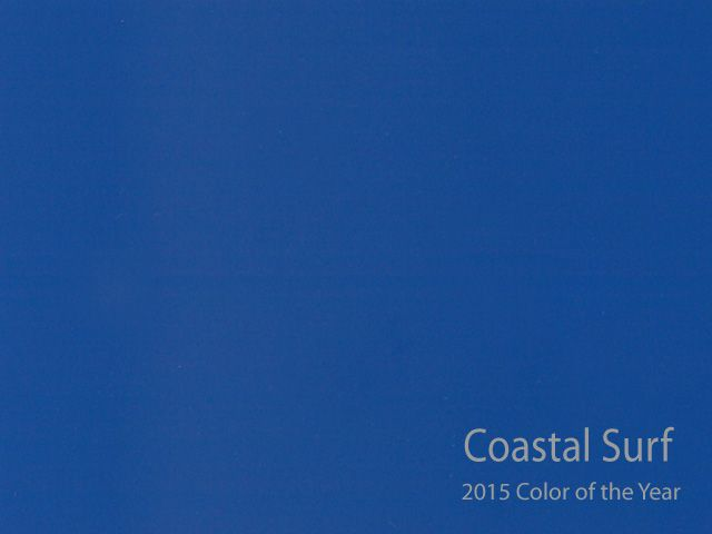 Coastal Surf  is Kelly Moore paint 2015 Color of the Year