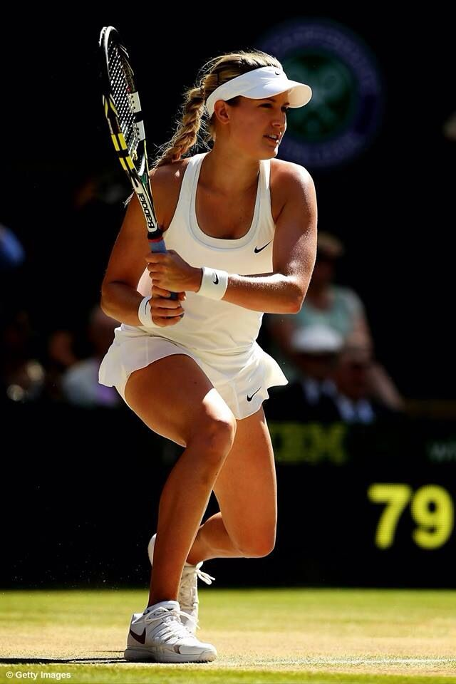 Eugenie Bouchard is the first Canadian to make it to the finals in Grand Slam singles history. #rolemodel #canadian #womenontop