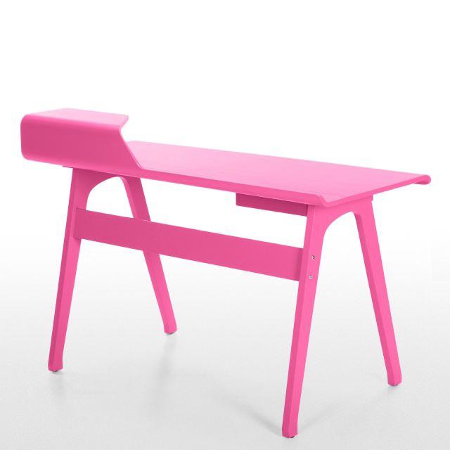 scrivania rosa by Cornell - http://www.monchic.it/negozio/scrivania-rosa-cornell/