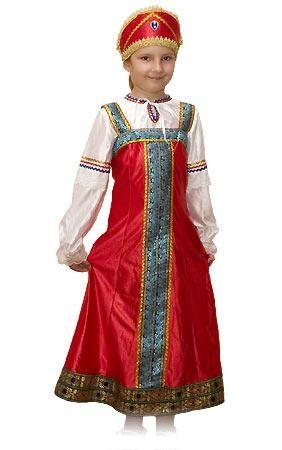 Новогодний фольклорный костюм