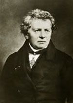 Georg Simon Ohm (1789–1854) begann bereits im Alter von 16 Jahren sein Studium der Mathematik, Physik und Philosophie an der Friedrich-Alexander-Universität und promovierte 1811. Zu seinen Entdeckungen zählen u. a. das später nach ihm benannte Ohm´sche Gesetz, die Ohm´sche Drehwaage zur Messung der Stromstärke und das sogenannte Ohm´sche Gesetz der Akustik.