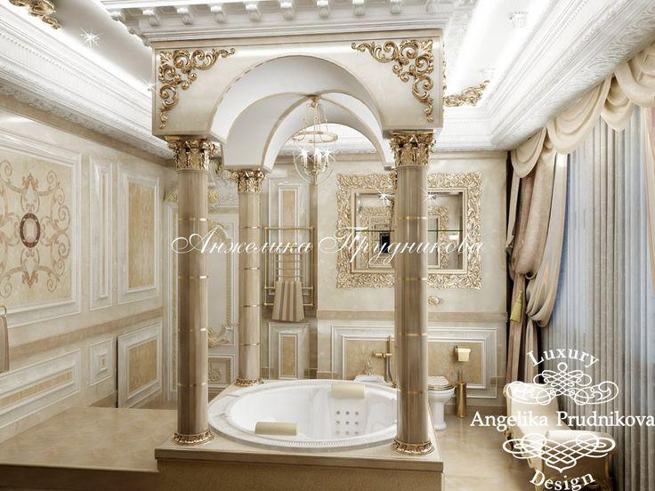 Золотая ванная. Фото 2017 - Дизайн дома