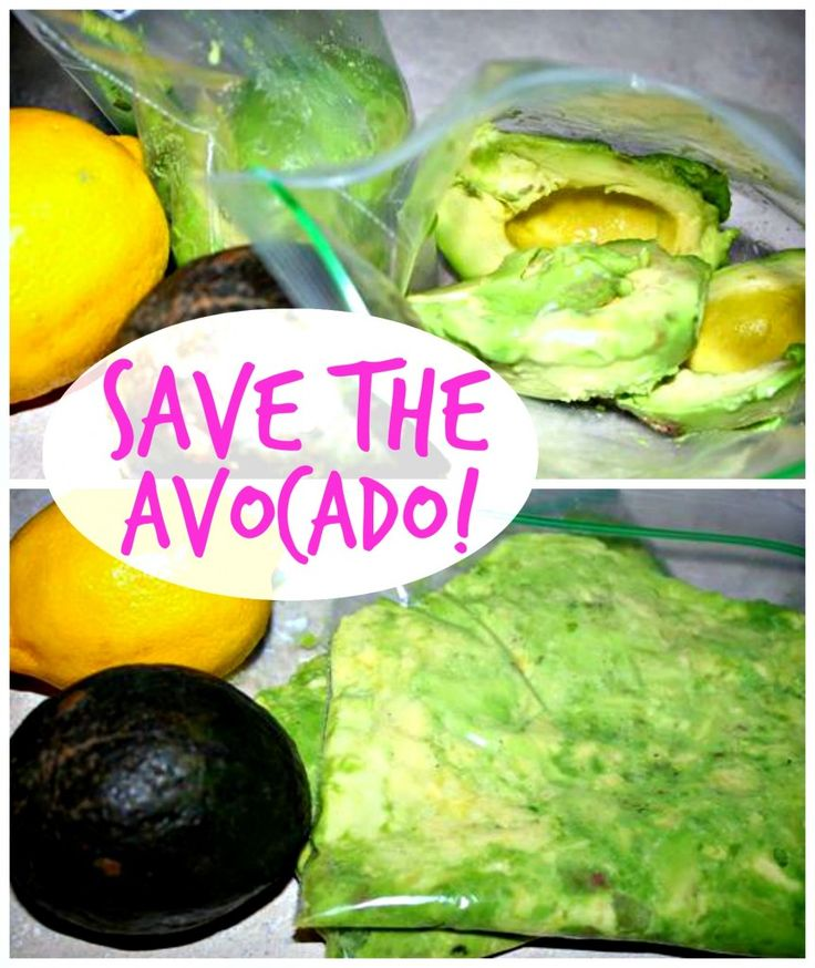 how to save the avocados!