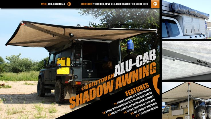 Alu-Cab's Shadow Awning