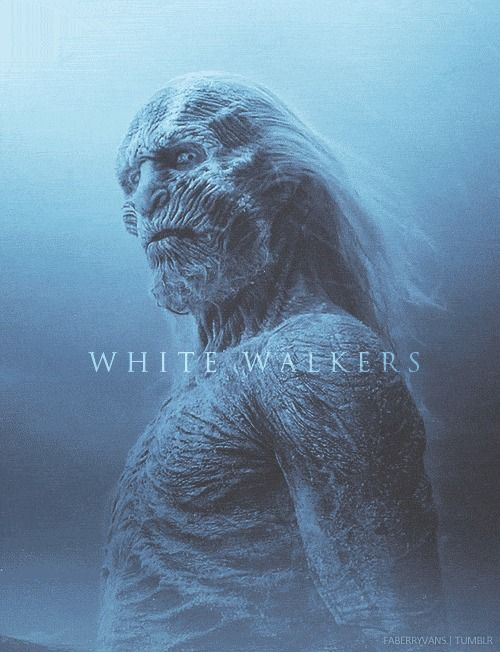 White Walkers from Game of Thrones