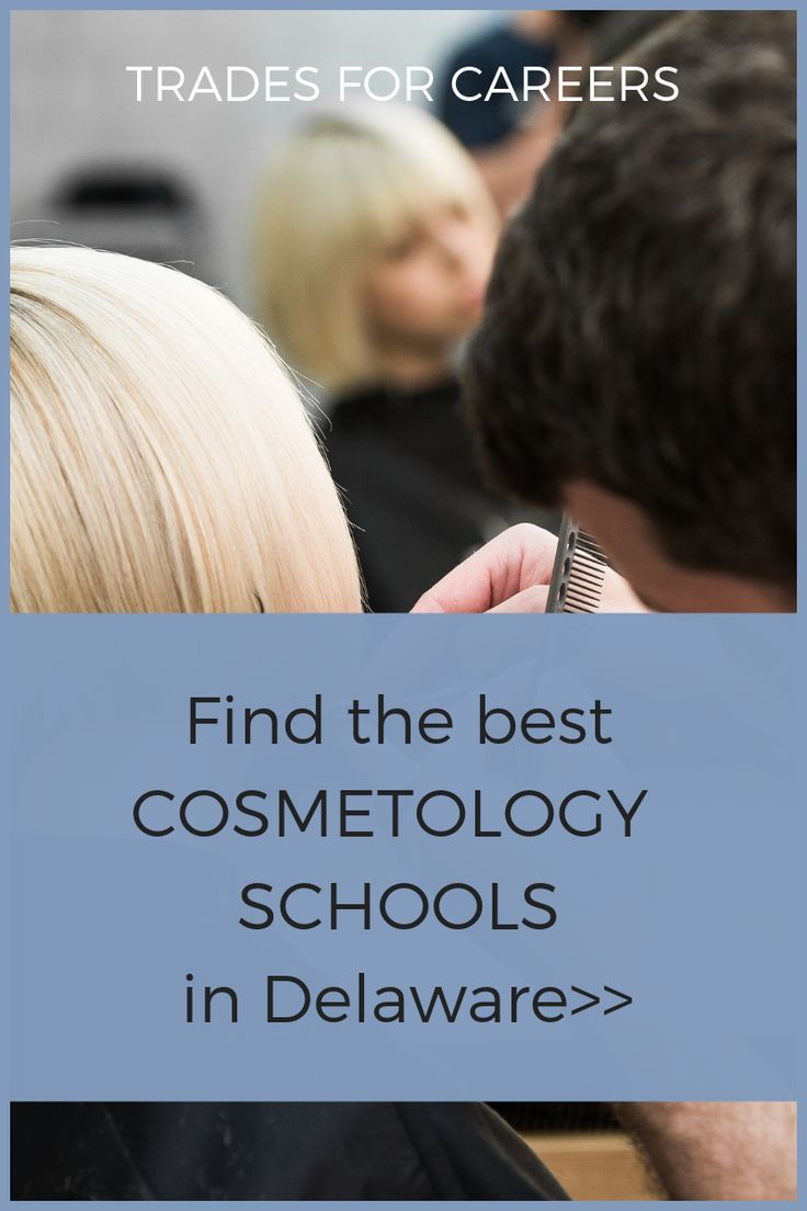 Find The Best Cosmetology Schools In Delaware Near You License Requirements Trades For Careers Best Cosmetology Schools Cosmetology School Cosmetology