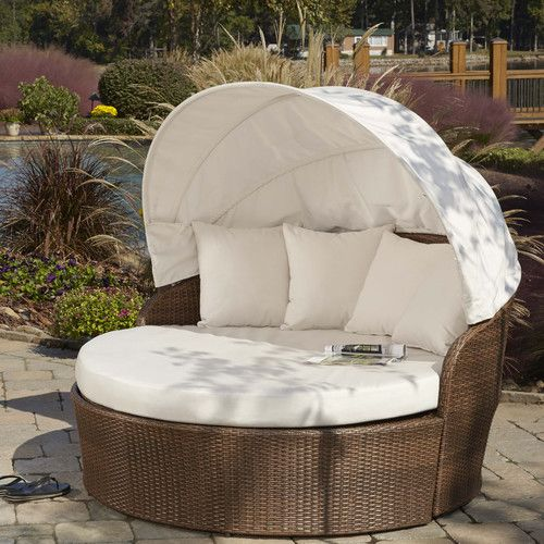 Panama Jack Outdoor Key Biscayne Daybed with Cushion.  Get wonderful discounts up to 70% Off at Wayfair using Coupon & Promo Codes.