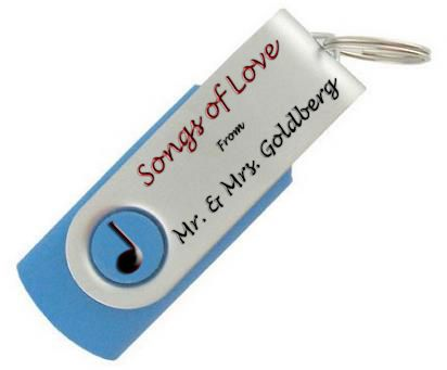 Take A Traditional USB Drive And Load Playlist Onto It For The Perfect Partyfavor Wedding MusicUsb