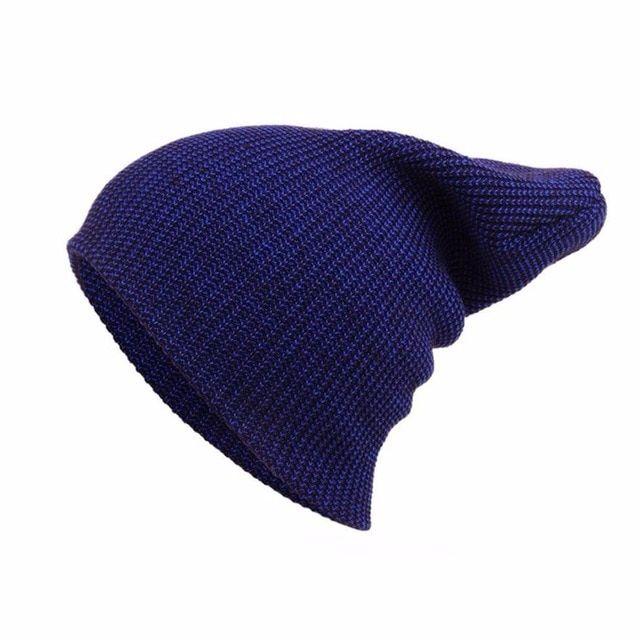 2e014c42ebd Sports men s winter hat Unisex Outdoor Winter Warm Knit wool Ski Hat  Braided Turban Headdress Cap solid men Femme Snapback Wool Review