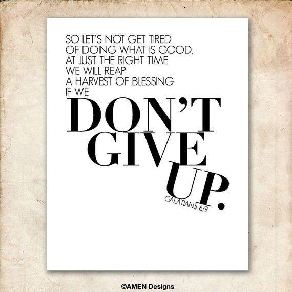 Image result for Do not give up kjv