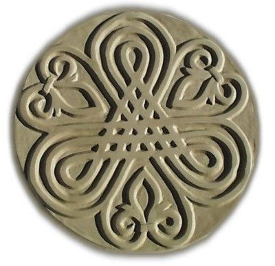 Fleur De Lis Stepping Stone Mold by SaharasSupplies on Etsy, $24.95
