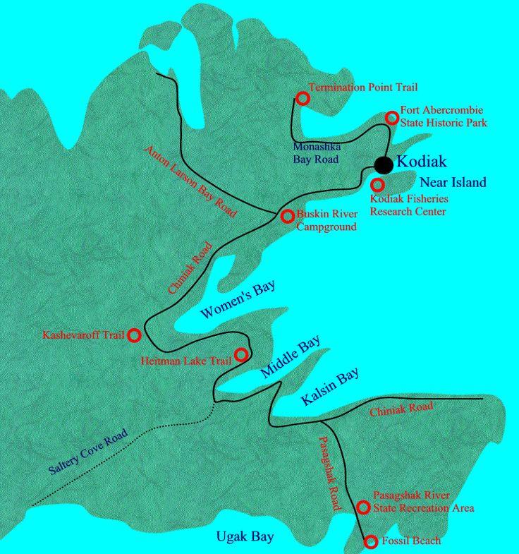 kodiak road map