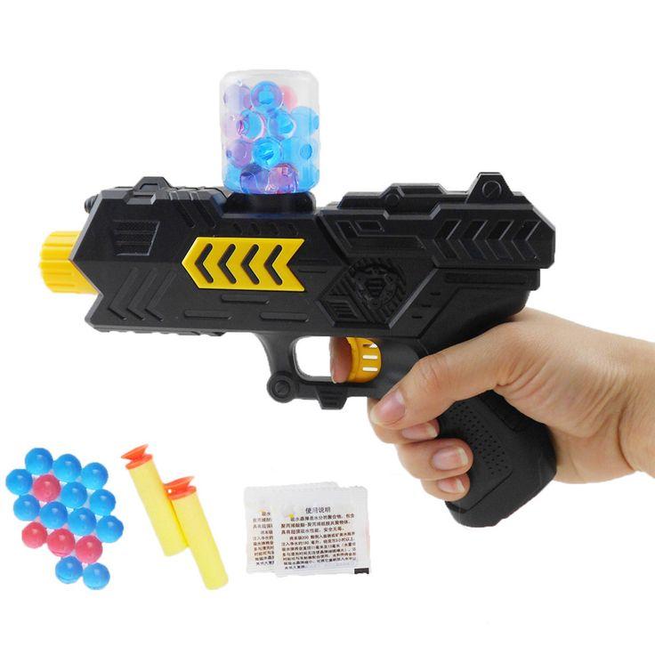 Paintball Gun Pistolet & Balle Molle Pistolet En Plastique Jouets CS Jeu tir D'eau Cristal Gun Air Soft Gun Pistolet À Air Comprimé D'été Enfant de jouet