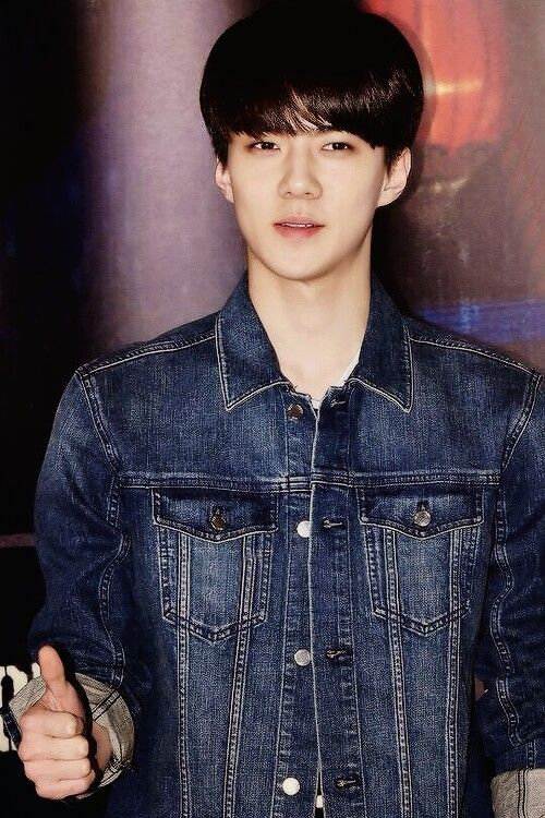 Cute and handsome sehun