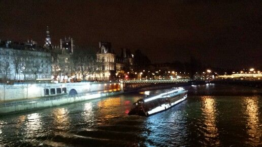 River in Paris. Many movies were made here.