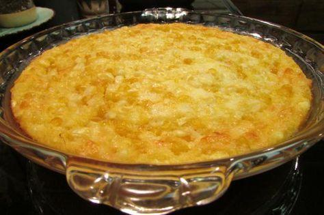 Corn Pie (Barbados). Photo by Chef PotPie