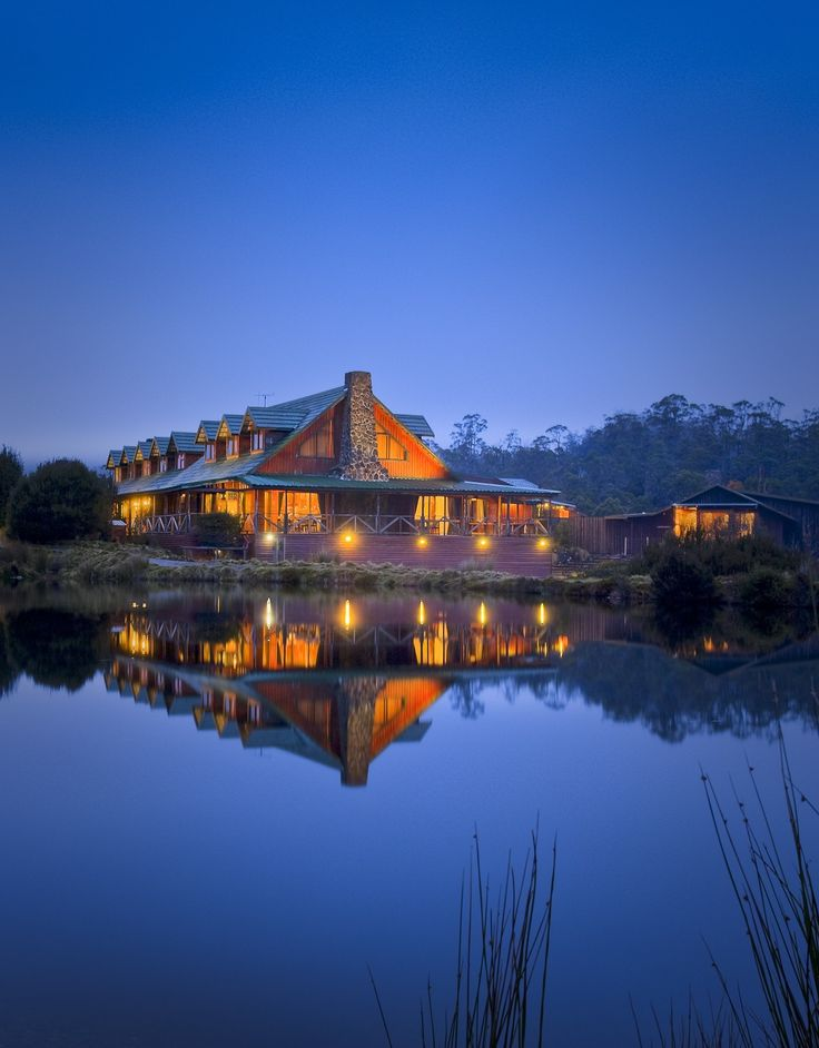 Peppers Cradle Mountain Lodge -Tasmania, Australia #Luxury