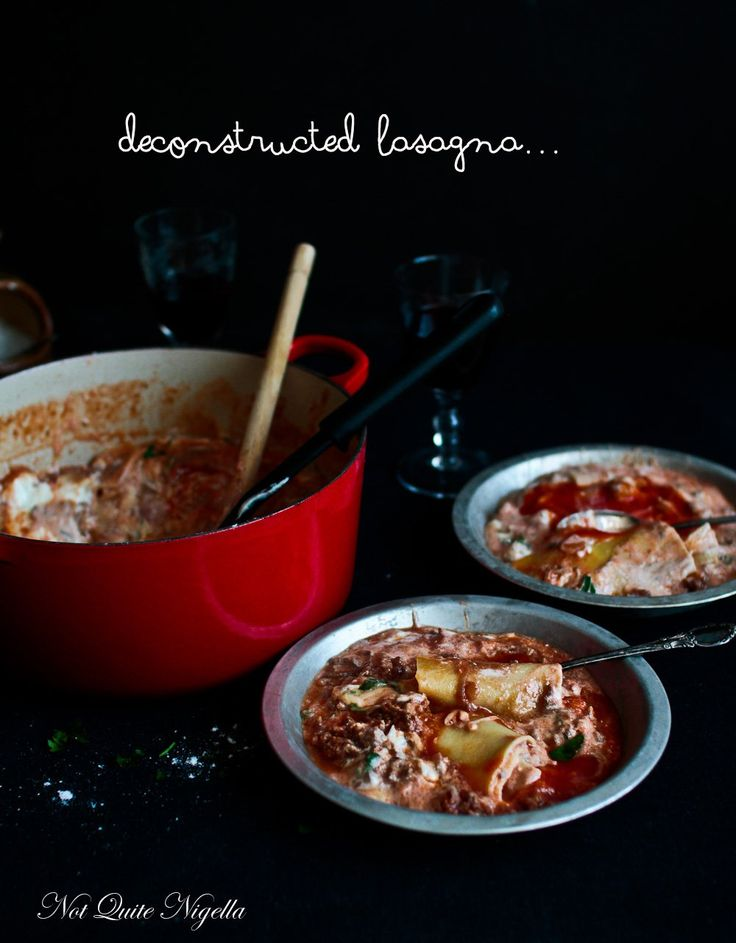An Easy Deconstructed Lasagna in 35 Minutes!