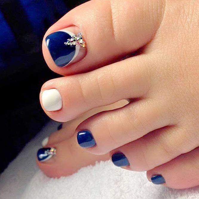 Best Toe Nail Art Ideas for Summer 2018 | Toe nail art ...